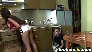 step sister cosette ibarra takes throbbing cock