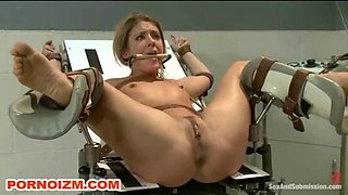 Maledom BDSM Prison Slave Submission in Medical Room