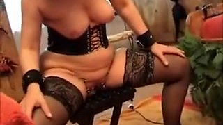 Hottest amateur Fetish, Stockings porn clip