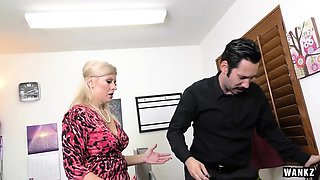 WANKZ- Office Slacker Tommy Pistol and Zoey Tyler