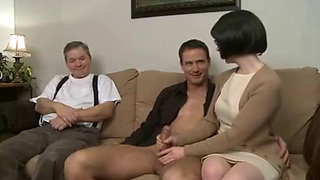 Stepmom and son humiliated her hubby 1