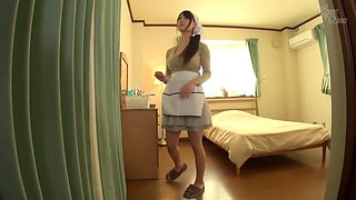 Hottest Japanese whore Yuka Tachibana in Horny big tits, maid JAV video