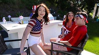 Old daddy teen anal Family Fourth Of July