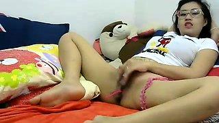Sexy Asian Brunette Teen Girl Amateur Fucked