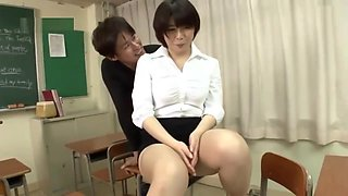 Rin Ogawa busty teacher