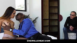 ShewillCheat - Sexy Young Wife Fucks BBC