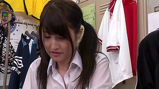 jap schoolgirl chases down for cock