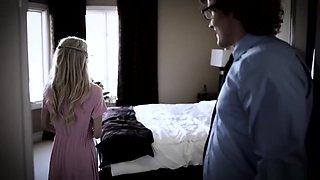 Petite Teen Trades Virginity To Save Her Nerdy Boyfriend