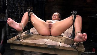 Abella Danger,The Pope in Hot Body Abella Danger Disciplined and Made to Cum in Rope Bondage!!  - TheTrainingofO