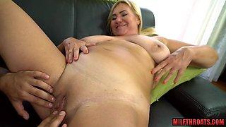 Big tits mature extreme sex and cumshot