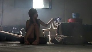 Crazy Japanese chick Risa Coda in Horny Slave, POV JAV scene