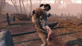 Fallout 4 Cimetery