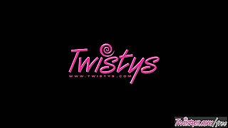 Twistys - Cindy Dollar starring at One-zy Fun