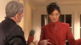 Busty Cougar Reporter Austin Fucks Sarah Palin's Hubby