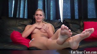 Eat your cum after I milk it out of you CEI