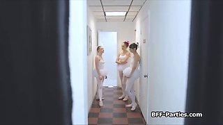 instructor fucks sexy teen ballerinas