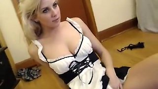 Lovely maid knows squirting and more