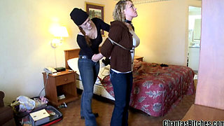 Bondage Bitch surrenders to her Mistress