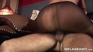 Milf German Pornstar and her pantyhose