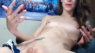 Hottest webcam Shaved, Fingering clip with Amber Fun slut.