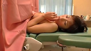 Real gyno sex video with asian doctor and his kinky patient