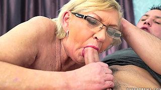 mature MILF Irene Granny's Gorgeous Tits