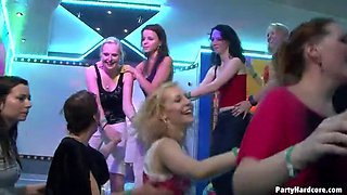 amazing vip orgy with european drunken party girls