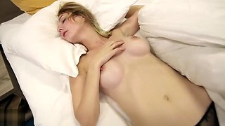 Stepbrother Fucking Sister While She Is Resting In Her Bed