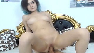 Babe with Super Hot Body Riding a Big Dick