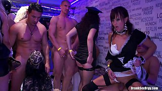 This steamy and incredible orgy party is surely worth watching