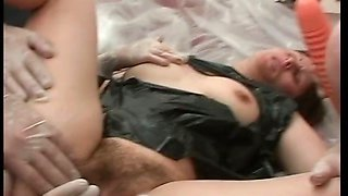 Crazy sex game in hospital where nurse