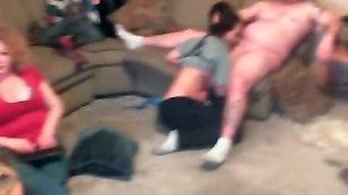 Crazy amateur swinger party