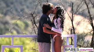 Babes - French Kiss  starring  Tyler Nixon an