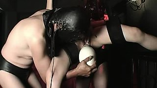 Monster fisting and insertions at Asian dungeon