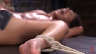 Doctor's Orders: Medical Mistress Mia Little Dominates New Patient - HogTied