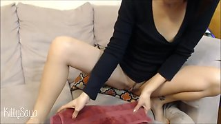early saya song with glasses solo masturbation webcam