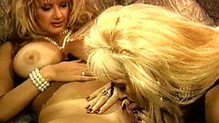 Retro milfs pornstars in a hot lesbian scene