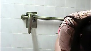 Women spied in public toilet compilation