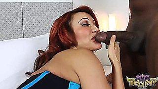 A Devine - Ava Rides Mandingos 12in Cock