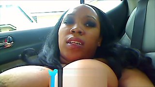 Ebony Milf Mommy Taboo Car Ride POV