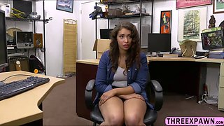 Desperate busty babe kitty catherine office sex