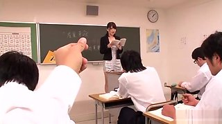 [MDYD-754] K-cup teacher Anri Okita humiliated and fucked like a sex slave